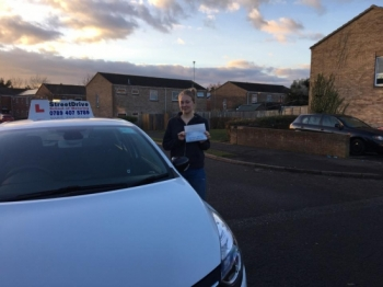 The first pass of the 2017 goes to Amy Whitmarsh who passed her driving test 1st Attempt at Bournemouth DTC <br />