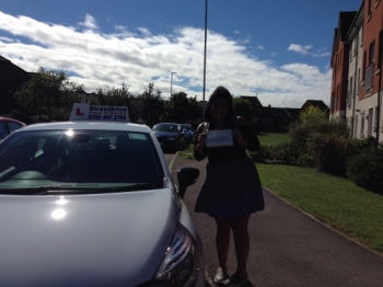 An enormous thank you to my instructor Louise who was patient with me very professional and gave me support whenever I felt nervous or worried<br />