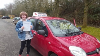 Fabulous driving instructor helped me pass first time with only two faults <br />