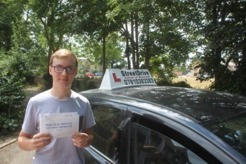"Beep, beep, move over ""Daniel"" is on the road, delighted for 'Daniel Plummer' who passed his driving test this morning at Chippenham DTC, on his ""1st Attempt"", just ""SIX"" driving faults, fantastic news.<br />