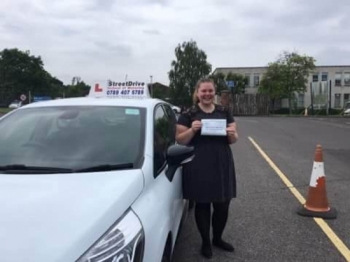 'Louise' is a brilliant instructor, she made me feel comfortable and is very friendly, she helped me gain confidence in myself and I actually started to enjoy driving. <br />