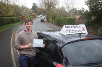 Well Done and a huge Thank You to Phil he assessed the amount of lessons that Harry needed accurately and Harry passed his test first time at aged 17 and 4 months<br />