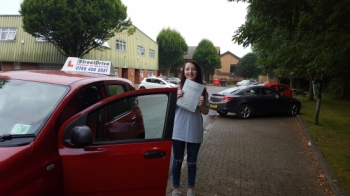 My driving instructor Bradley was fantastic at teaching me and I managed to pass my test 1st time just 3 weeks of turning 17 <br />