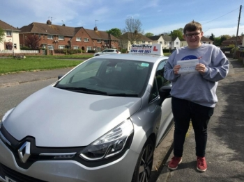 ** Passed First Attempt - ZERO Driving Faults **<br />