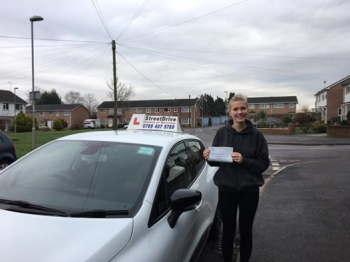 A very big thank you to Louise at StreetDrive for being an amazing instructor helping me to pass my test first time <br />