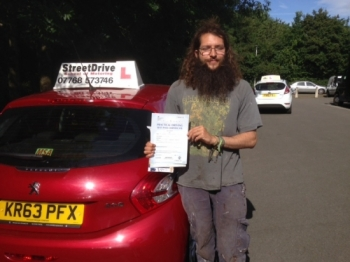 Congratulations to S Assan who passed his driving test 1st Attempt at Chippenham DTC very well done we are all delighted for you<br />