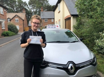 I passed with only 3 driving faults, so happy! Such a great instructor!!<br />