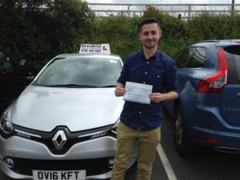 Shaun has been a fantastic instructor from start to finish. His patience coupled with his knowledge and teaching ability has been instrumental in my passing first time. He has provided a fantastic, tailored service - Passed Friday 1st July 2016....