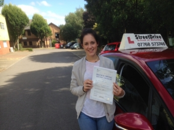 Passed today congratulations to Danni Hawes who passed her driving test 1st Attempt at Chippenham DTC very well done we are all delighted for you<br />